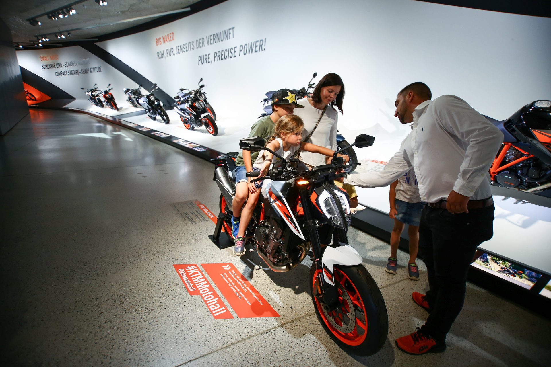 Referenz - KTM Motohall - Museumsbetreuung