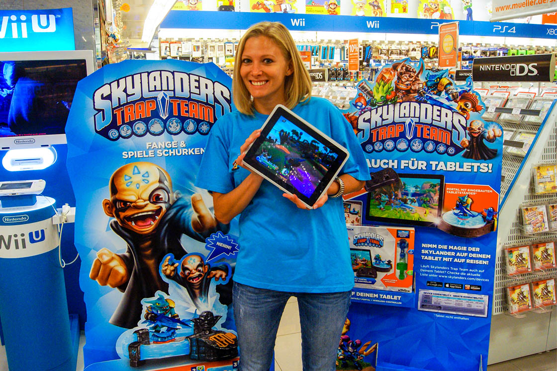 Referenz - Activision - Skylanders Trap Team
