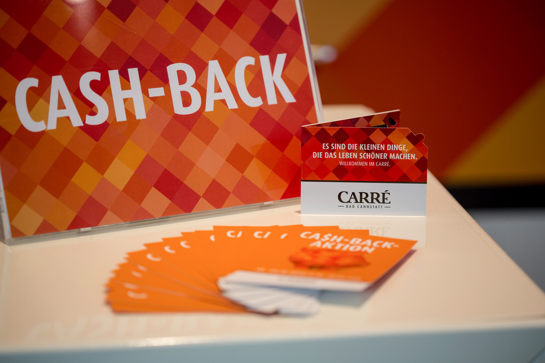 Referenz - Carré Bad Cannstatt - Promotionaktion