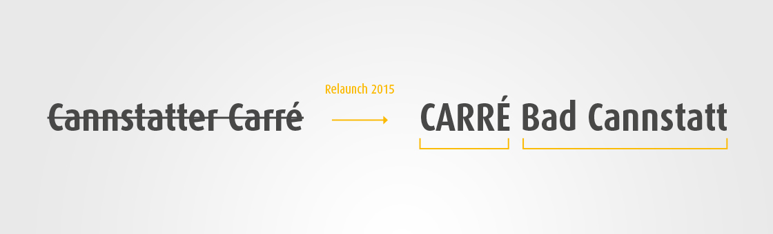 Referenz - Carré Bad Cannstatt -  Corporate Design