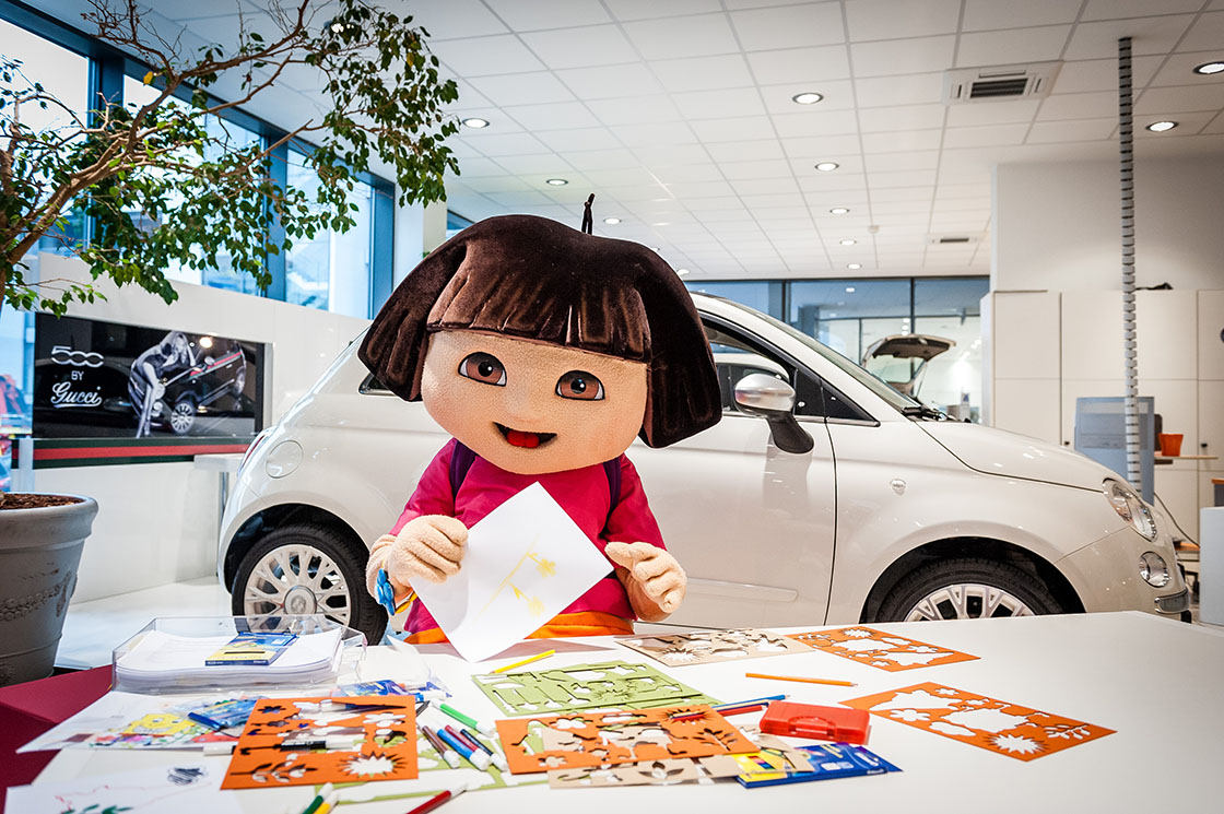 Referenz - Fiat - 500L POS Events