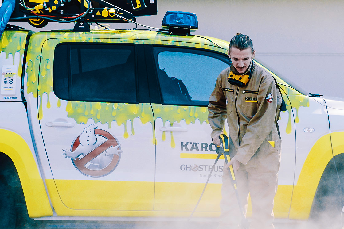 Referenz - Kärcher - Ghostbusters