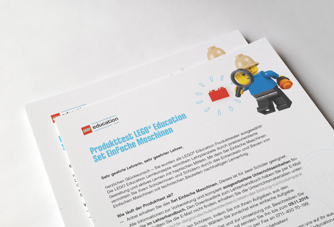 DIGITAL & COMMUNICATION Referenz - LEGO® - Education campaign