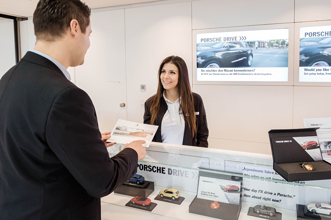 PEOPLE & TALENTS Referenz - Porsche Drive - Guest management