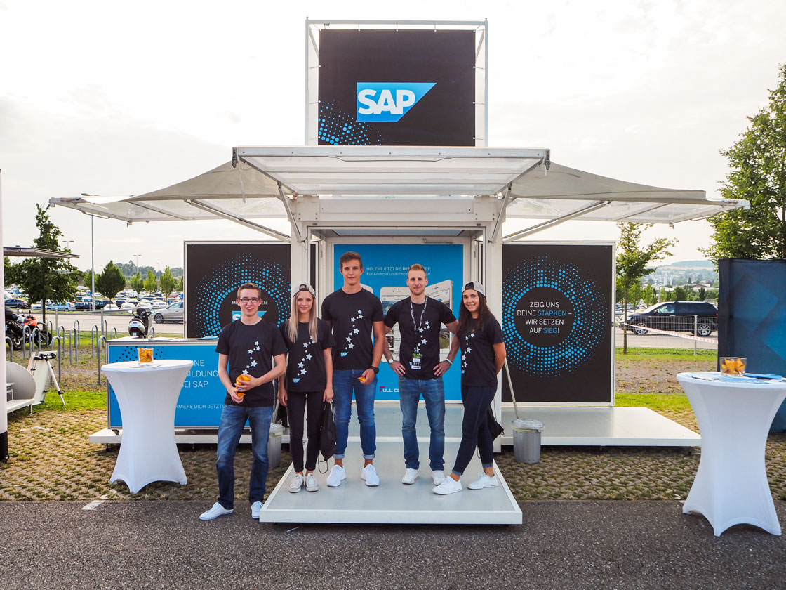 DIGITAL EVENT & LIVE COMMUNICATION Referenz - SAP - U19-EM